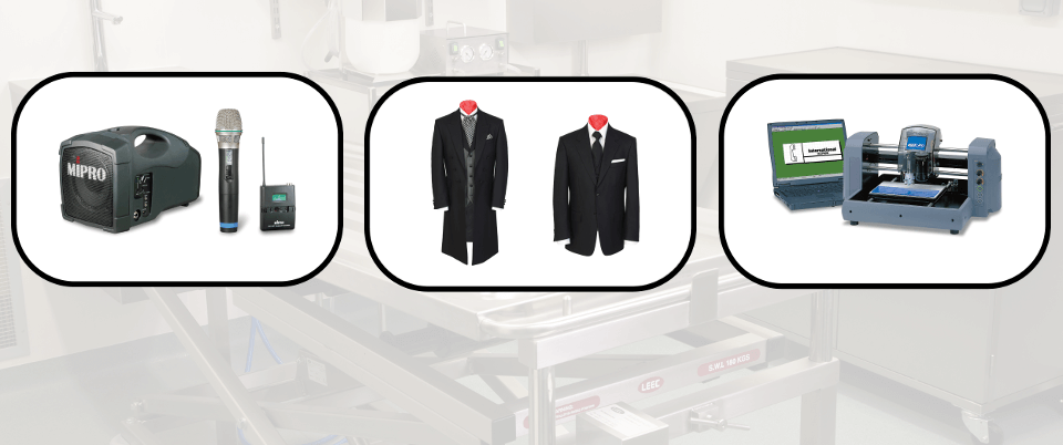 Products For Funeral Directors
