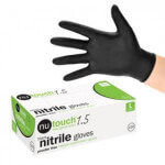 Black nitrile glove 950x950